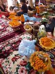 Vientiane - Festvorbereitungen im Vat Sisaket