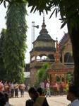Vorort von Vientiane - Tempelfest