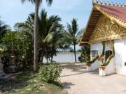 Vientiane - kleiner Tempel