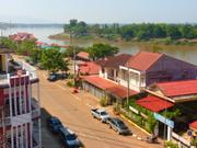 Mündung des Xe Don in den Mekong