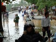 Überschwemmung bei Hue
