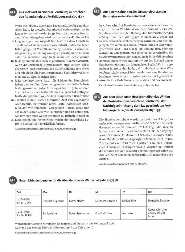 Quellen aus Bensheim