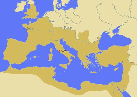 imperium romanum ca. 200 n. chr.