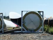 Windflügel vor der Montage