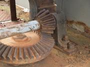 Getriebe zum Drehen eines alten Lastkrans