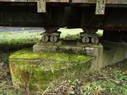 Rollenlager einer Brücke (über die Lahn)