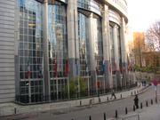 Europäisches Parlament Brüssel (Teilansicht)